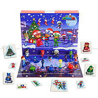 Детский адвент календарь 2019 Герои в масках PJ Masks Advent Calendar Just Play