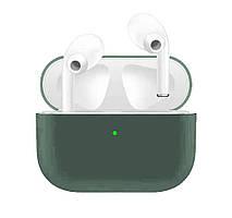 Чехол для Airpods Pro Ultrathin Silicon case Grass Green