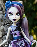 Кукла Monster High Катрин Де Мяу (Catrine DeMew) Мрак и Цветение Монстер Хай Школа монстров
