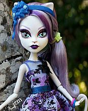 Кукла Monster High Катрин Де Мяу (Catrine DeMew) Мрак и Цветение Монстер Хай Школа монстров