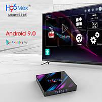 Налаштована TV приставка H96 4/32 ГБ MAX (Смарт тв приставки на андроїд, TV Box x96 mini), фото 2