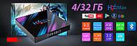 Налаштована TV приставка H96 4/32 ГБ MAX (Смарт тв приставки на андроїд, TV Box x96 mini), фото 10