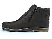 Распродажа последний 44 размер коричневые кожаные зимние ботинки мужская обувь Rosso Avangard 1095997226