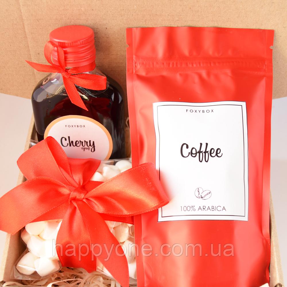 Подарочный набор CoffeBox Red