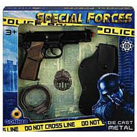 Ігровий набір Police з пістолетом і аксесуарами Gonher 425/6