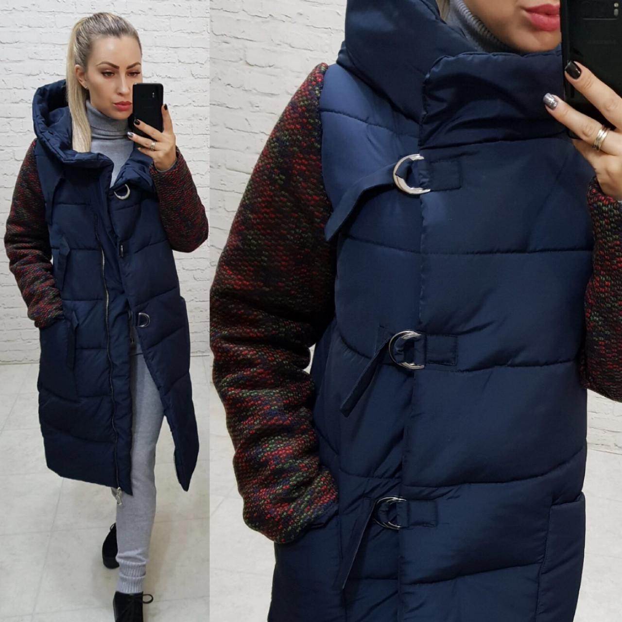 Куртка зимняя комбинированная, арт. 181