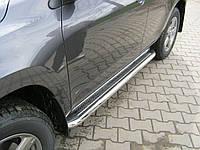 Пороги боковые (площадка С2) Toyota RAV-4 (2006-...)
