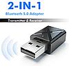 Адаптер Bluetooth 5.0 аудио приемник-передатчик