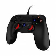 Джойстик геймпад проводной XiaoJi GameSir G3w для Android/PC/PS3 Black