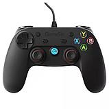Джойстик геймпад проводной XiaoJi GameSir G3w для Android/PC/PS3 Black, фото 8