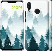 """Чехол на Huawei Nova 3 Акварельные Елки """"4720c-1535-535"""""""