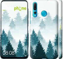 """Чехол на Huawei Nova 4 Акварельные Елки """"4720c-1632-535"""""""