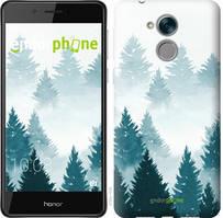 """Чехол на Huawei Honor 6C Pro Акварельные Елки """"4720c-1358-535"""""""