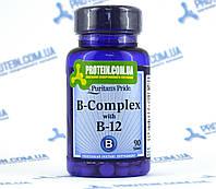 Витамины Puritans Pride B-Complex and B-12 90 таб