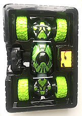 Машинка перевертиш Hyper Climbing Car Champions довжина 37 см Зеленого кольору, фото 2