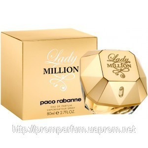 Женская туалетная вода Paco Rabanne Lady Million (реплика)