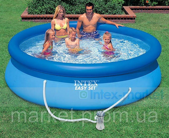 Надувной бассейн Easy Set Pool Intex 56922 (305х76 см. ) + насос
