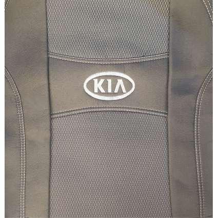 Чохли Kia Rio III New 2011 розріз