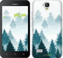 """Чехол на Huawei Ascend Y5 DS/Y560 Акварельные Елки """"4720u-340-535"""""""