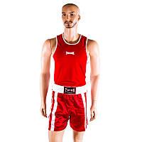 Майка,трусы боксерские Twins красный TW2104