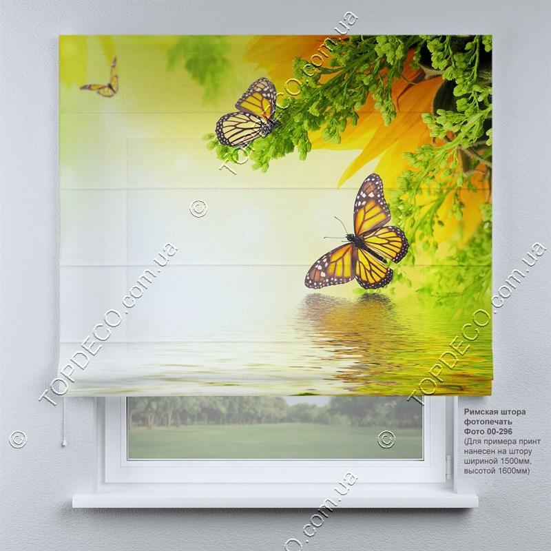 Римська фото штора Природа. Безкоштовна доставка. Інд.розмір. Гарантія. Арт. 00-296