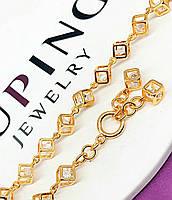 Красивый женский браслет из медицинского золота Xuping