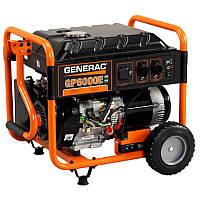 Однофазный бензиновый генератор GENERAC GP6000E (6 кВт)
