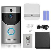 Домофон с системой видеонаблюдения Wi-Fi 720p видеодомофон с беспроводным звонком iOS и Android Smart Doorbell B30