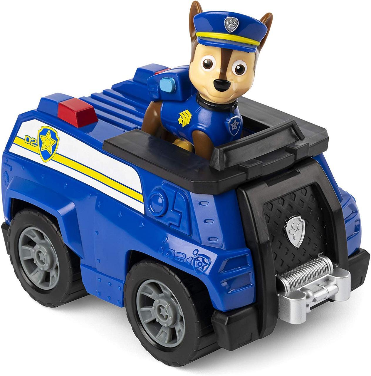 Щенячий патруль Чейз гонщик на полицейской машине Paw Patrol  Chase's Cruiser