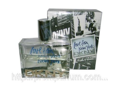 Мужская туалетная вода Donna Karan DKNY Love From New York For Men (реплика)