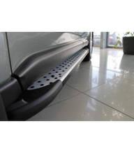 "Пороги боковые ""Saphire"" V1 Volkswagen Amarok (2011-...)"