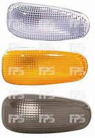 Левый (правый) указатель поворота Мерседес Спринтер 95-06 на крыле дымч. овальный без лампы / MERCEDES SPRINTER (1995-2006)