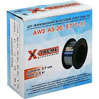 Проволока сварочная флюсовая X-Treme E71T-11 0.9 мм 1 кг.