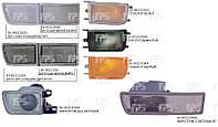 Правый отражатель Вольксваген Гольф III заглушка-п/тум.большая белая / VOLKSWAGEN GOLF III (1991-1997)