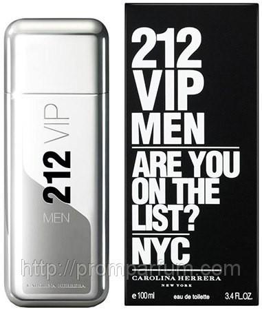 Мужская туалетная вода Carolina Herrera 212 VIP Men (реплика)
