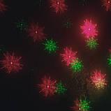 Уличный лазерный проектор ,новогодние рисунки, фото 4