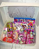 Набор L.O.L surprise.( набор для девочек lol лол) со сладостями лол