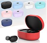 Оригинальный чехол на кейс для Xiaomi Mi True Wireless Earbuds / Ультратонкий Soft-touch /, фото 2