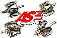 Ротор (якорь) генератора Porsche. Порш. Детали генераторов AS.