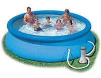Надувной бассейн Intex Easy Set Pool intex 56422 (366х76 см. ) + насос