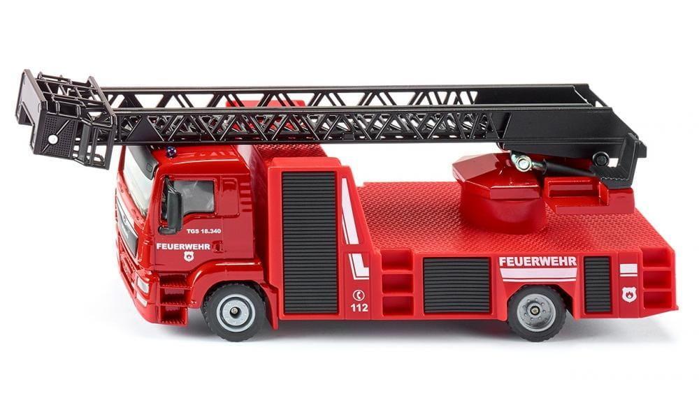 Масштабная модель Пожарная машина с краном SIKU (1:50)    2114