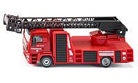 Масштабная модель Пожарная машина с краном SIKU (1:50)    2114, фото 1