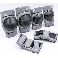 Защита детская наколенники налокотники перчатки SK-6968GR