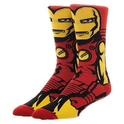 Высокие мужские носки Железный человек