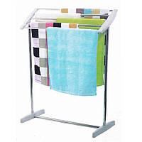 Сушилка для белья напольная Mobile Towel Rack, комнатная сушка для одежды