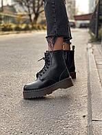 Зимние ботинки DR. Martens (НА МЕХУ). Мартинс на меху., фото 1