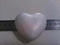Сердце пенопластовое 6 см