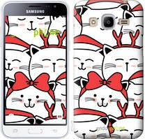 "Чехол на Samsung Galaxy J2 (2016) J210 Милый кот ""4717u-270-535"""