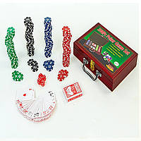 Покерный набор 200фишек IG-6642