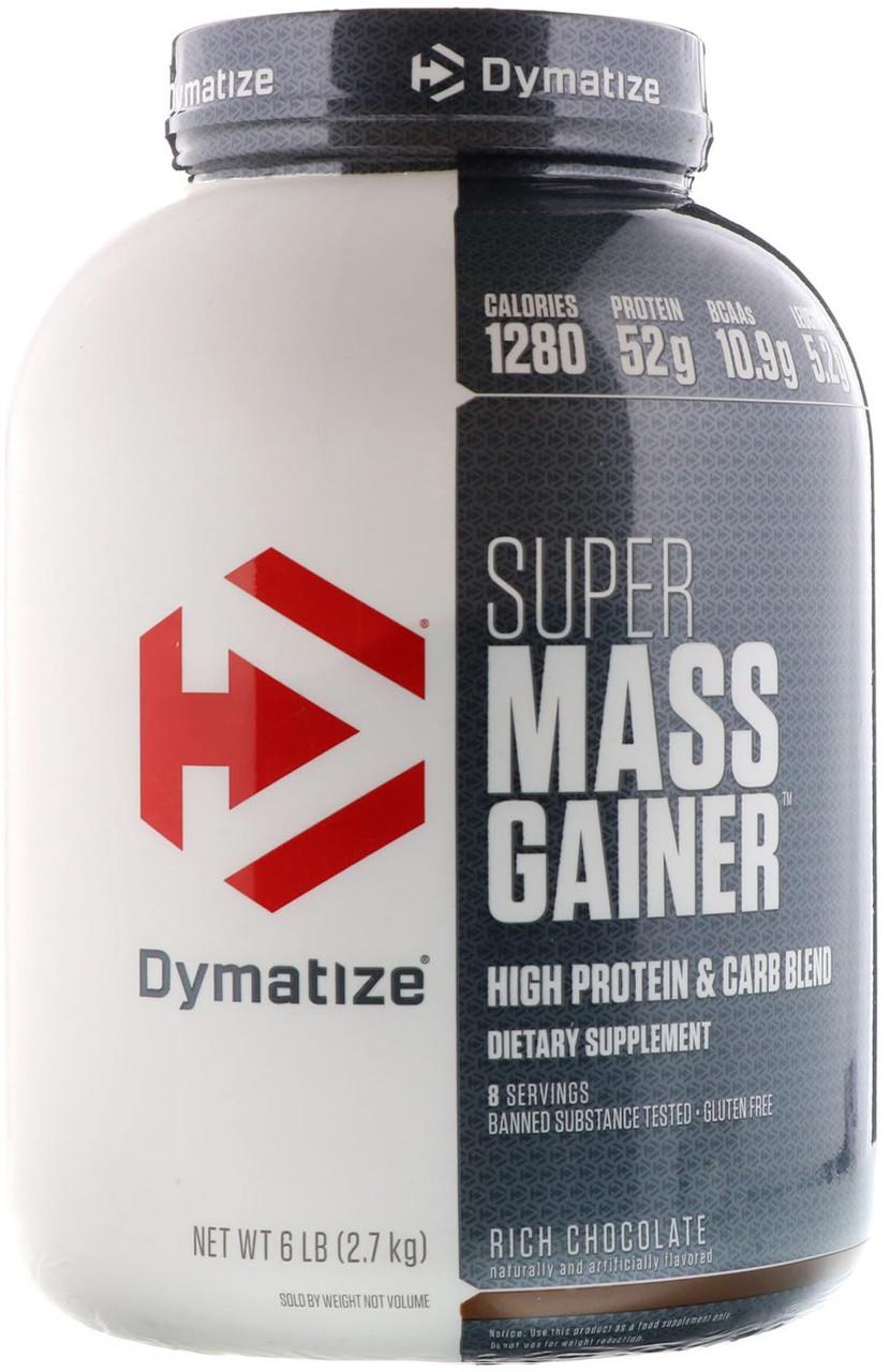 Гейнер Dymatize Nutrition - Super Mass Gainer (2700 грамм) шоколад